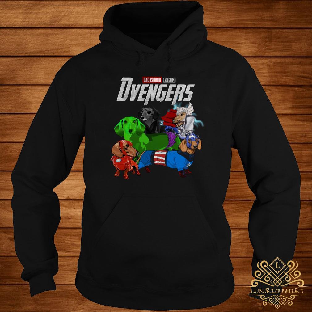 Dvengers Dachshund version hoodie