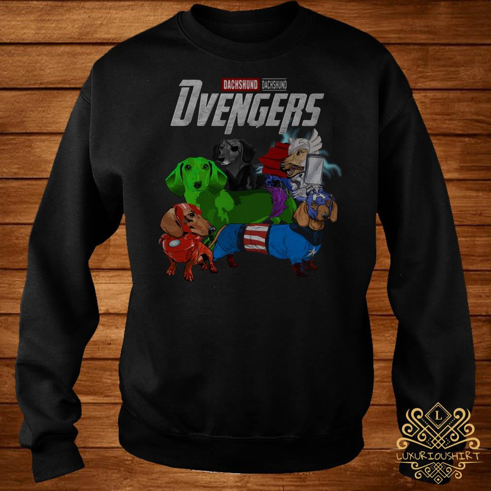 Dvengers Dachshund version sweater