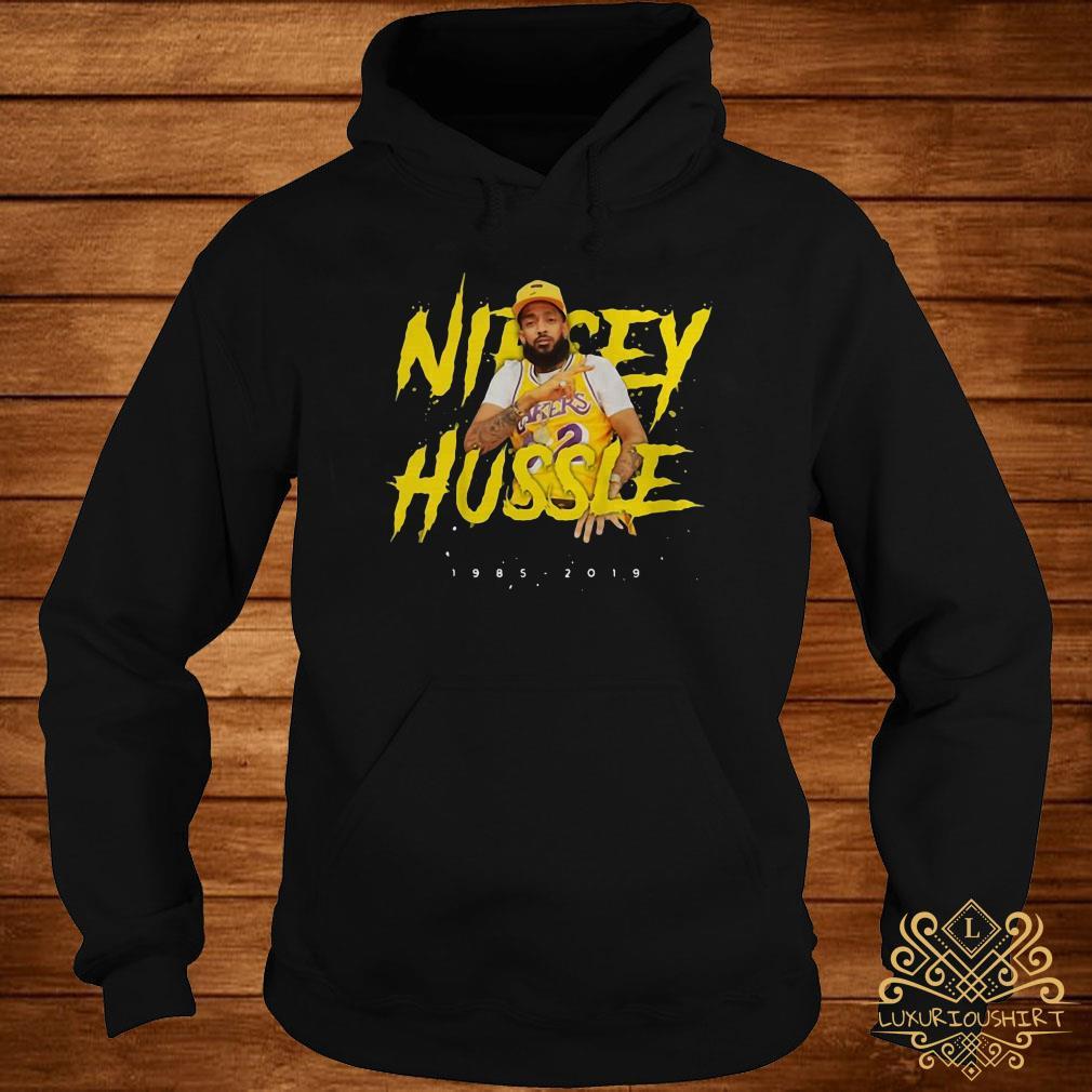Nipsey Hussle rip 1985-2019 respect him hoodie