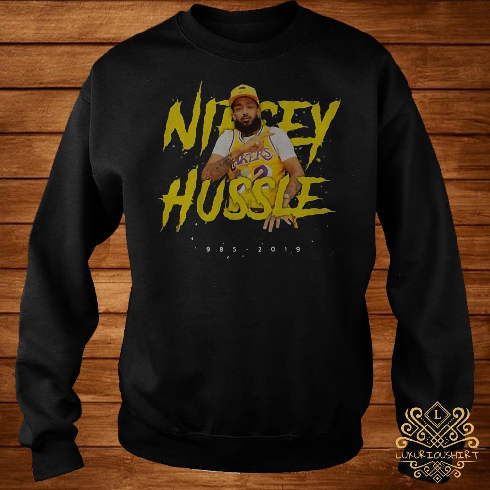 Nipsey Hussle rip 1985-2019 respect him sweater