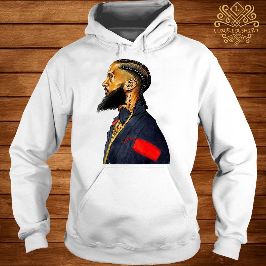 Rapper Nipsey Hussle rest in peace hoodie