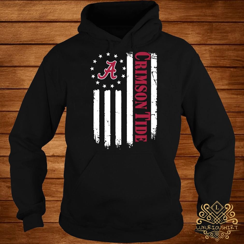 Alabama Crimson Tide Betsy Ross flag hoodie