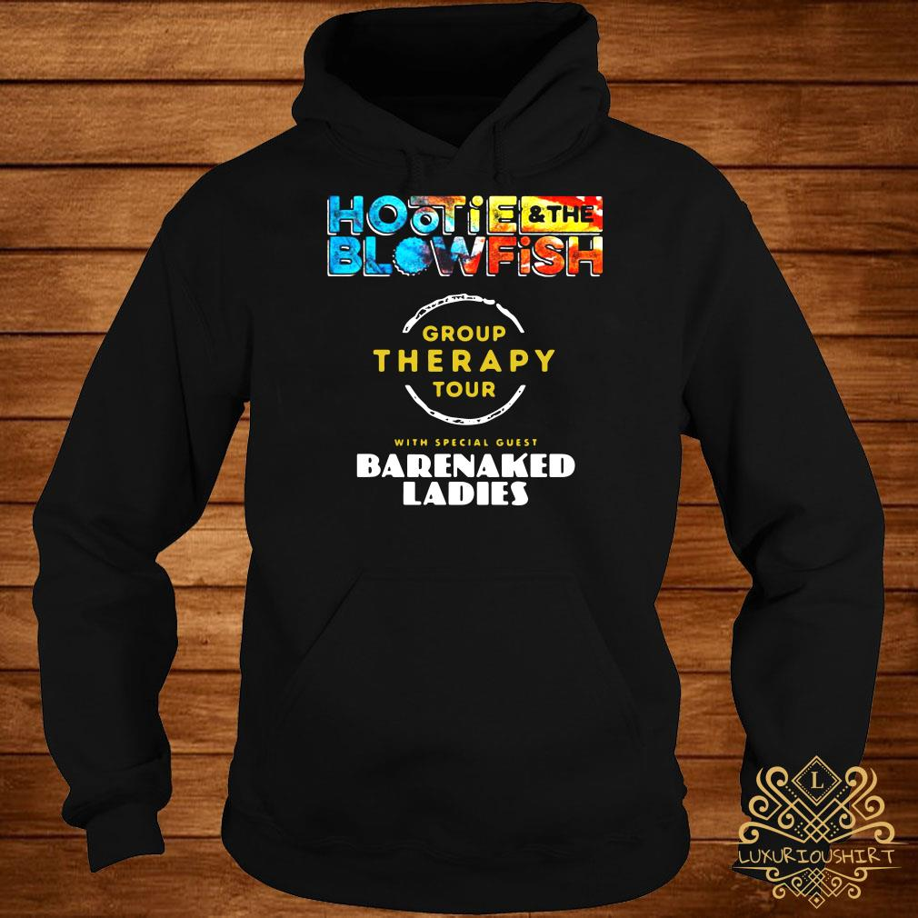 Hootie and the blowfish group therapy tour barenaked ladies hoodie