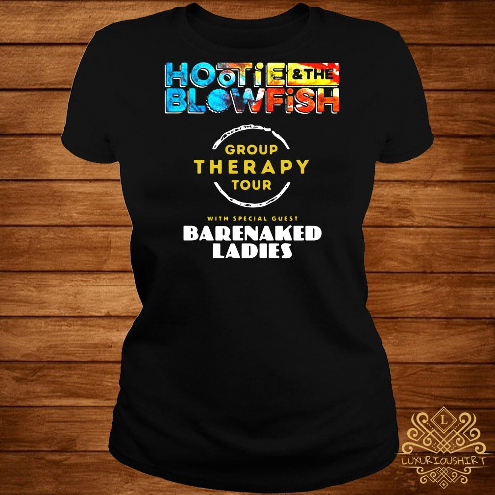 Hootie and the blowfish group therapy tour barenaked ladies ladies tee