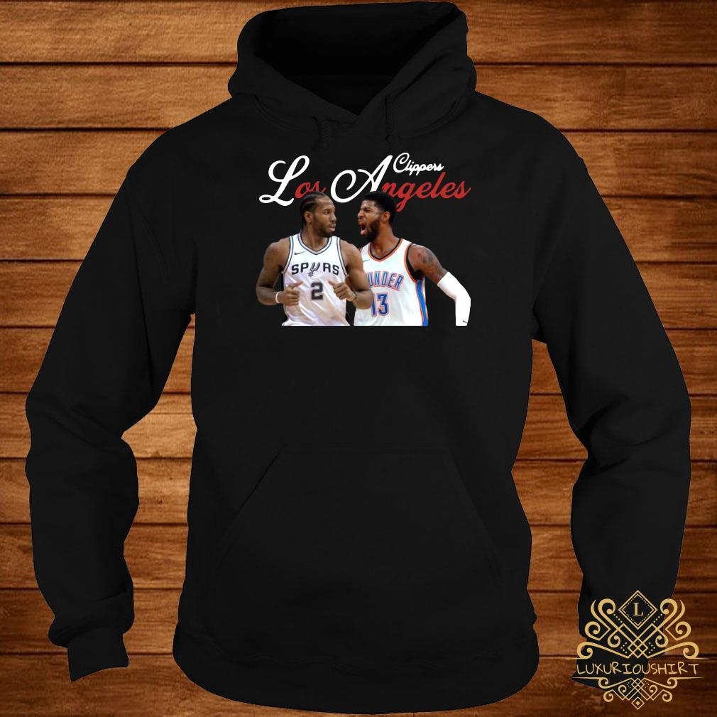 Kawhi Leonard Paul George LA Clippers hoodie