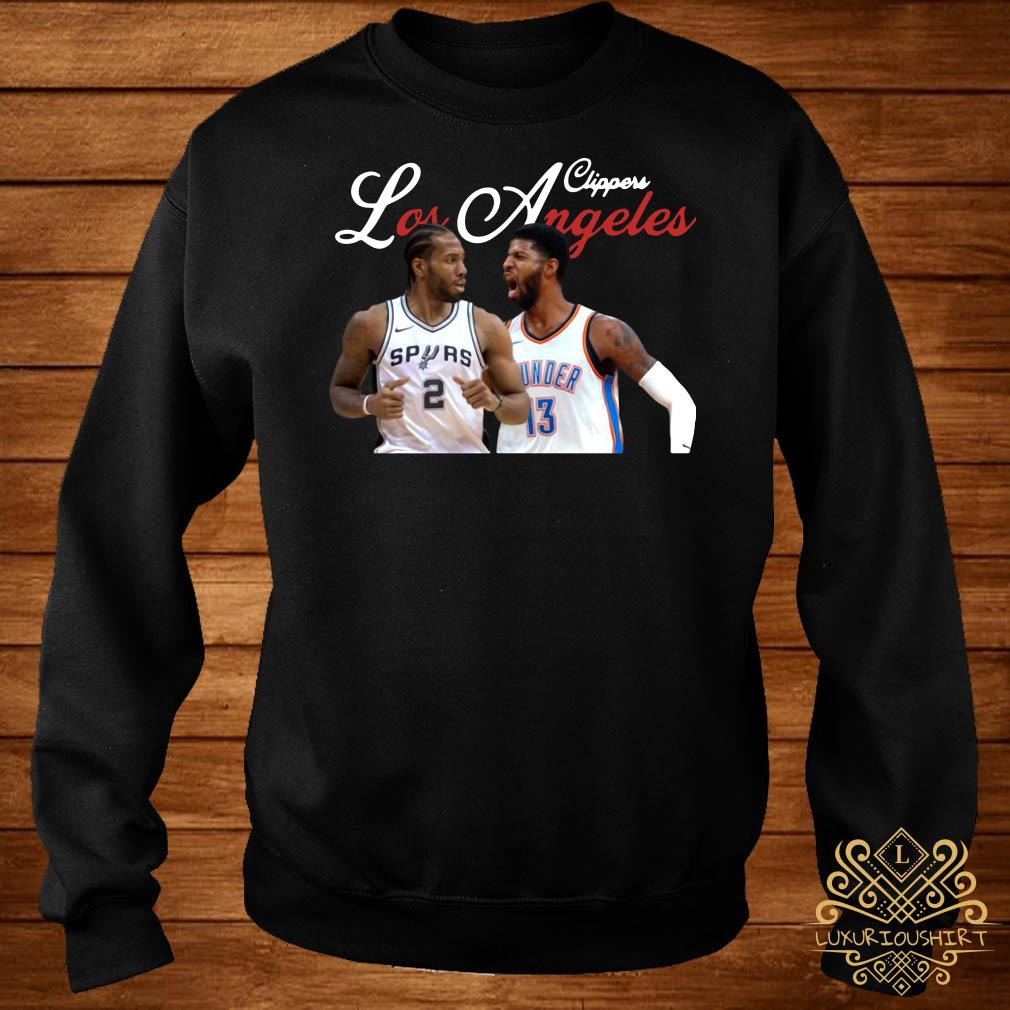 Kawhi Leonard Paul George LA Clippers sweater