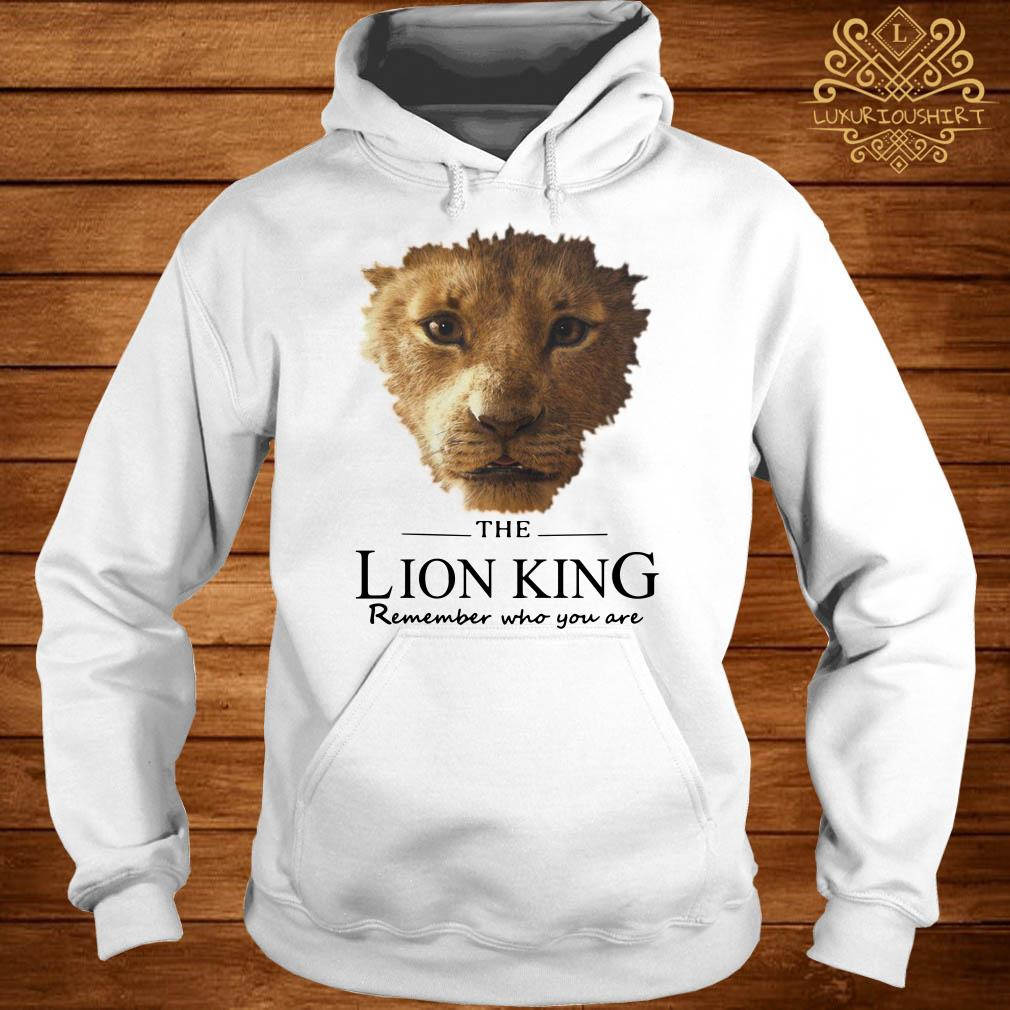 The Lion King remember who you are hoodie