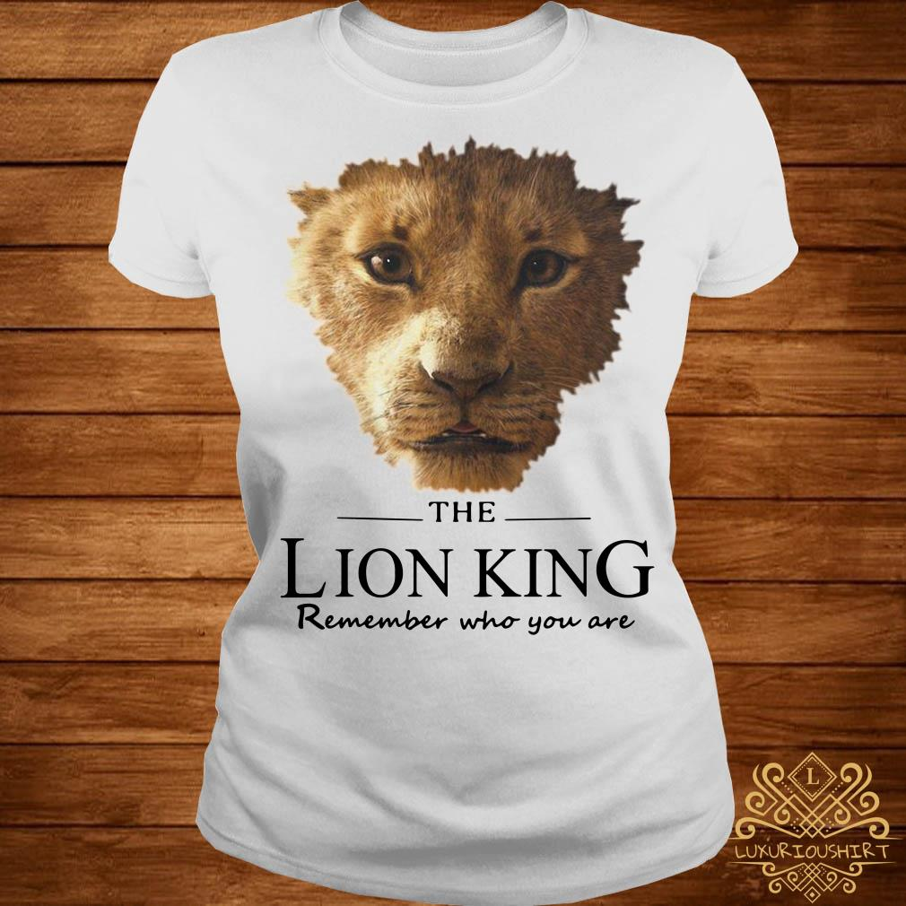 The Lion King remember who you are ladies tee