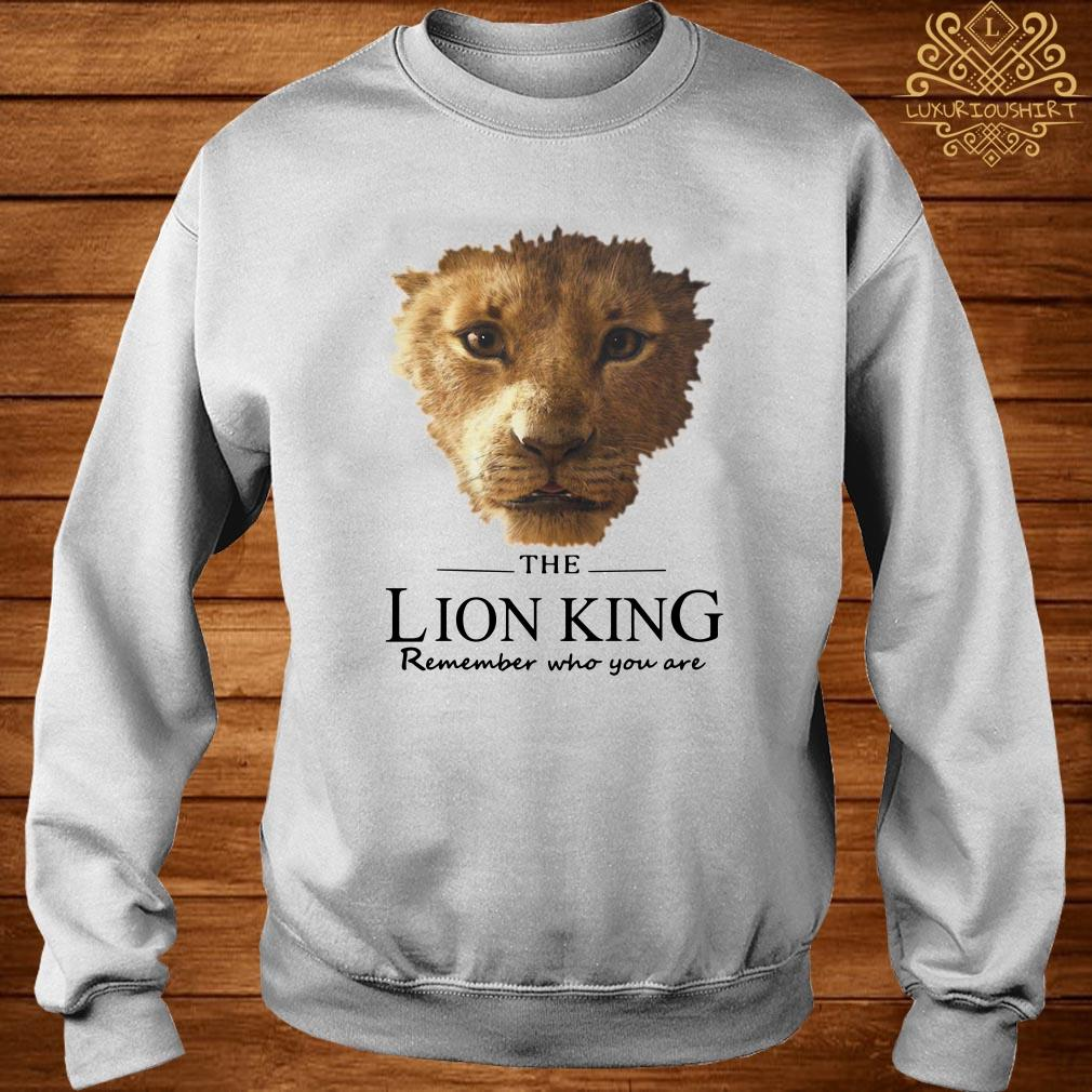 The Lion King remember who you are sweater