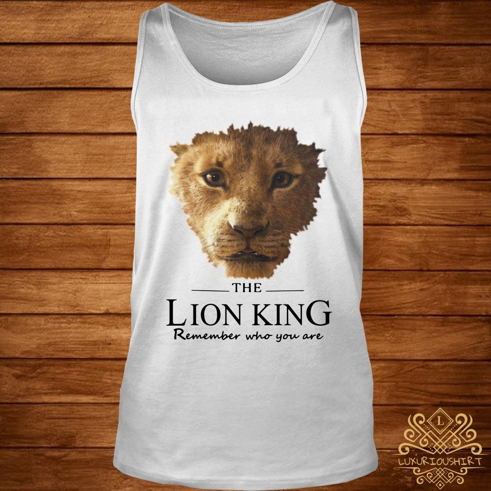 The Lion King remember who you are tank-top
