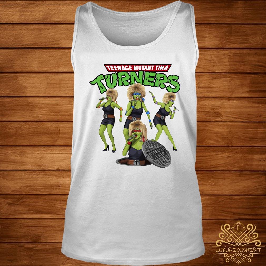 Teenage mutant Tina turners tank-top