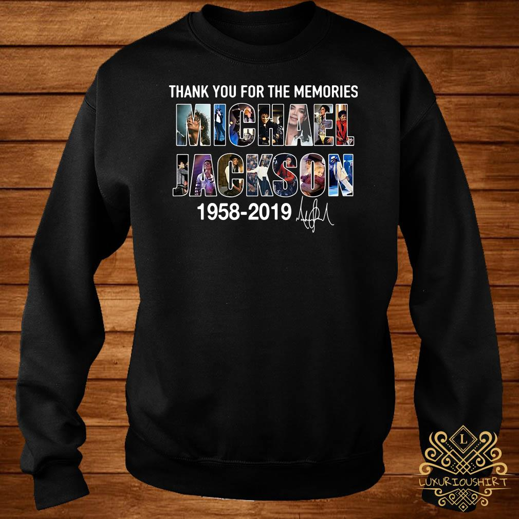 Thank you for the memories Michael Jackson 1985 2019 sweater