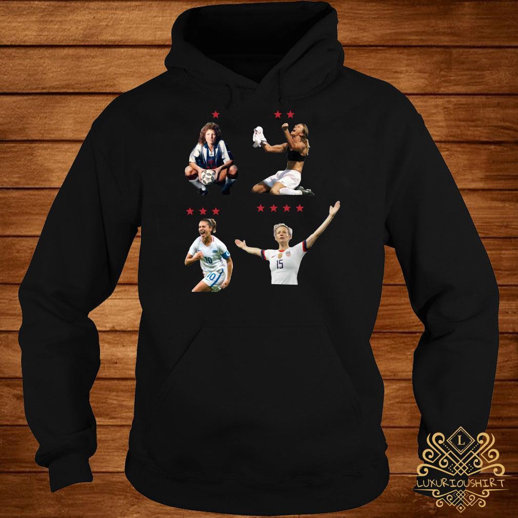 USWNT 4 World Cup Stars hoodie