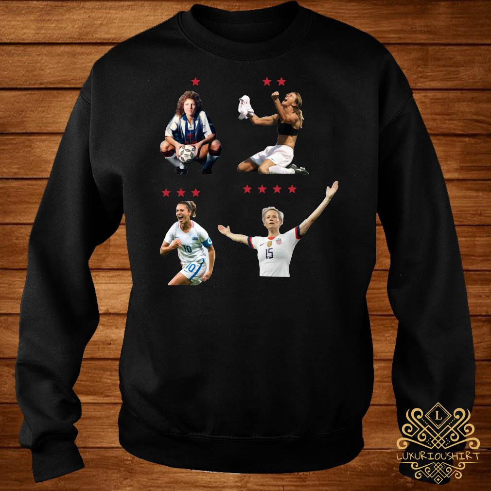 USWNT 4 World Cup Stars sweater