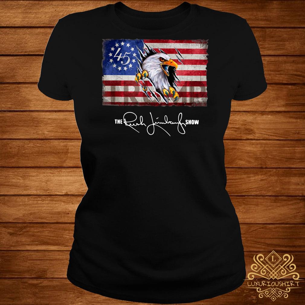 Trump Eagle Betsy Ross Flag The Rush Limbaugh Show shirt