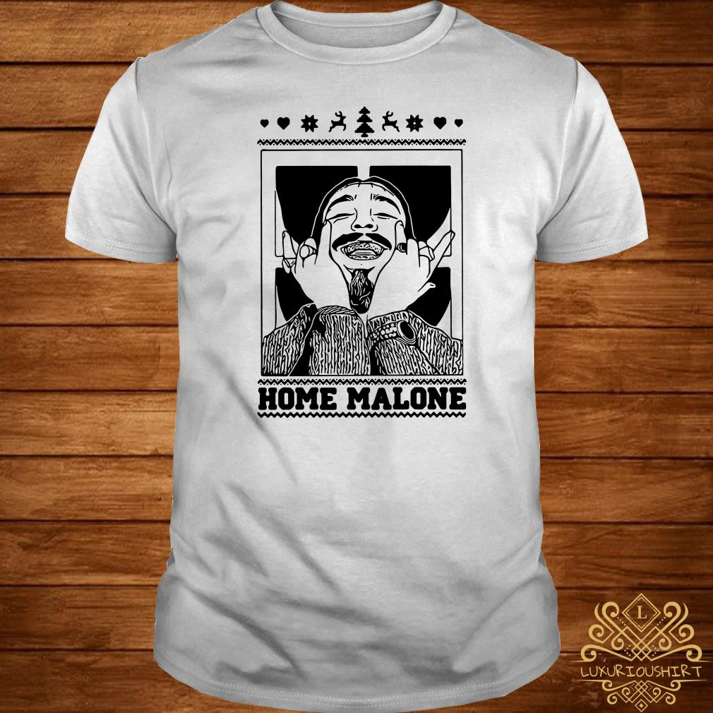 Post Malone Home Malone Christmas Shirt, Sweater, Hoodie