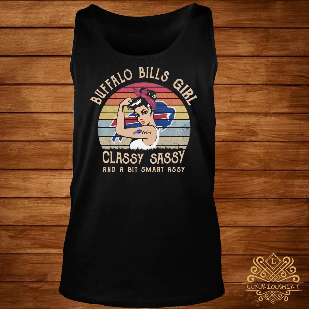 Buffalo Bills Girl Classy Sassy And A Bit Smart Assy Vintage Tank-topBuffalo Bills Girl Classy Sassy And A Bit Smart Assy Vintage Tank-top