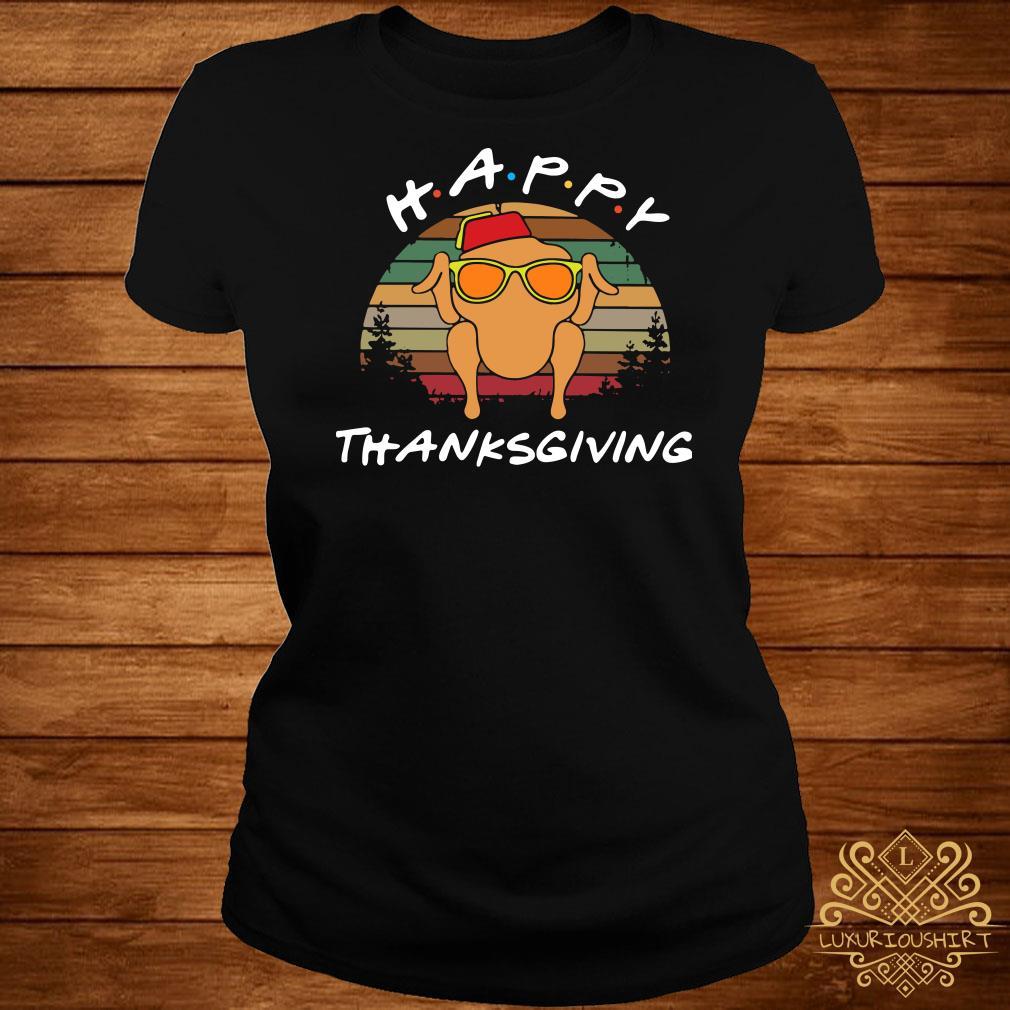Happy Thanksgiving Vintage ladies Tee