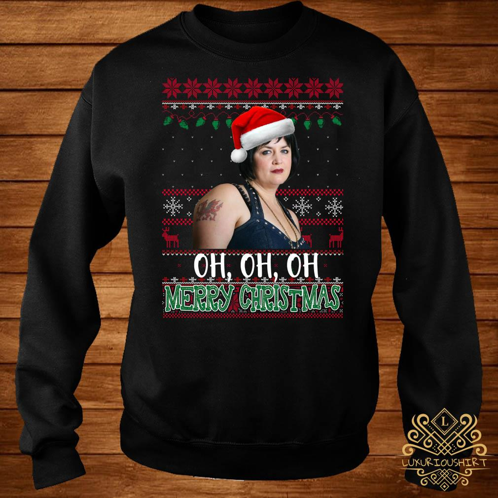 Nessa Jenkins Oh Oh Oh Merry Christmas Ugly Sweater