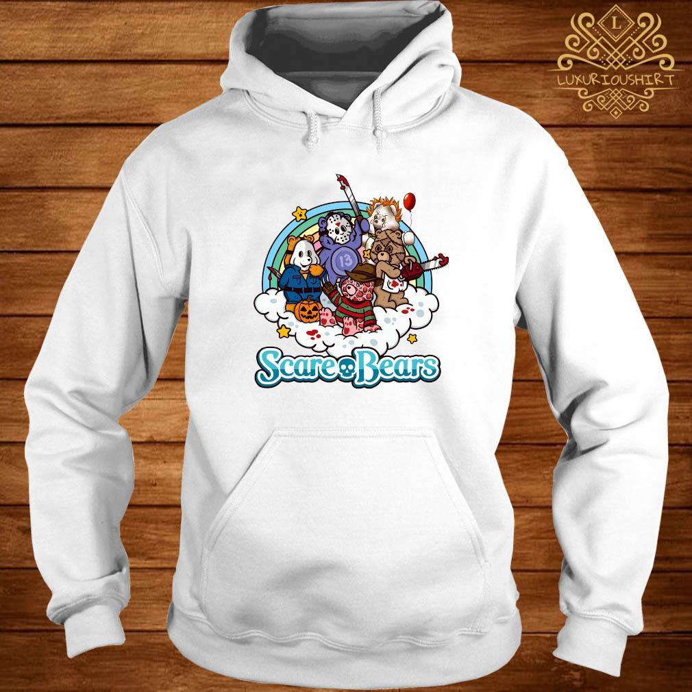 Scare Bears Horror Movie Characters Shirt hoodie