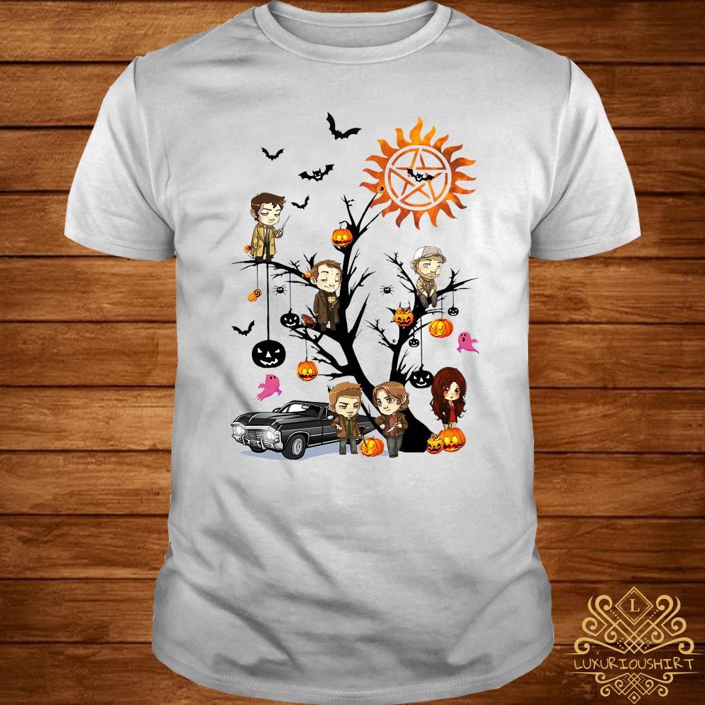 Supernatural Tree Halloween Shirt