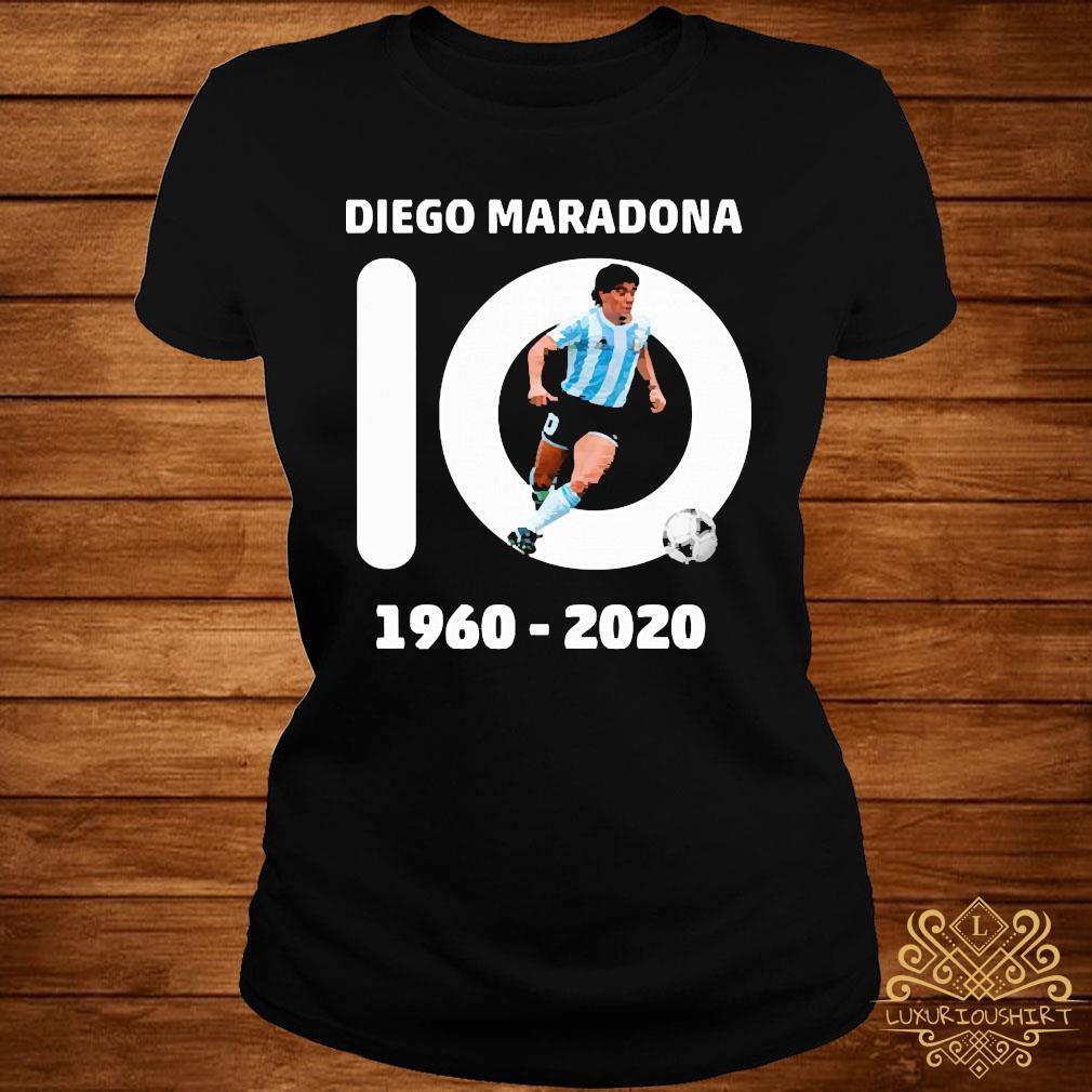 10 Diego Maradona 1960 2020 Shirt ladies-tee