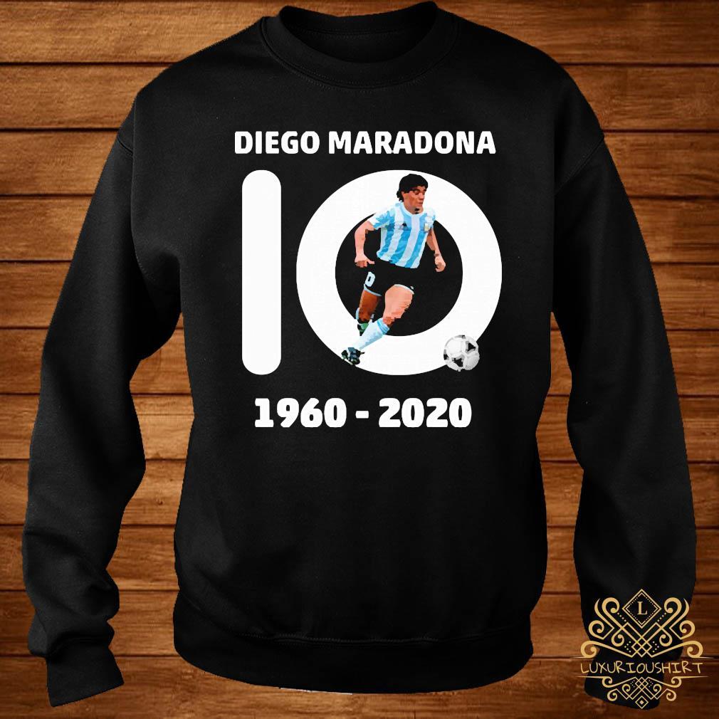 10 Diego Maradona 1960 2020 Shirt sweater