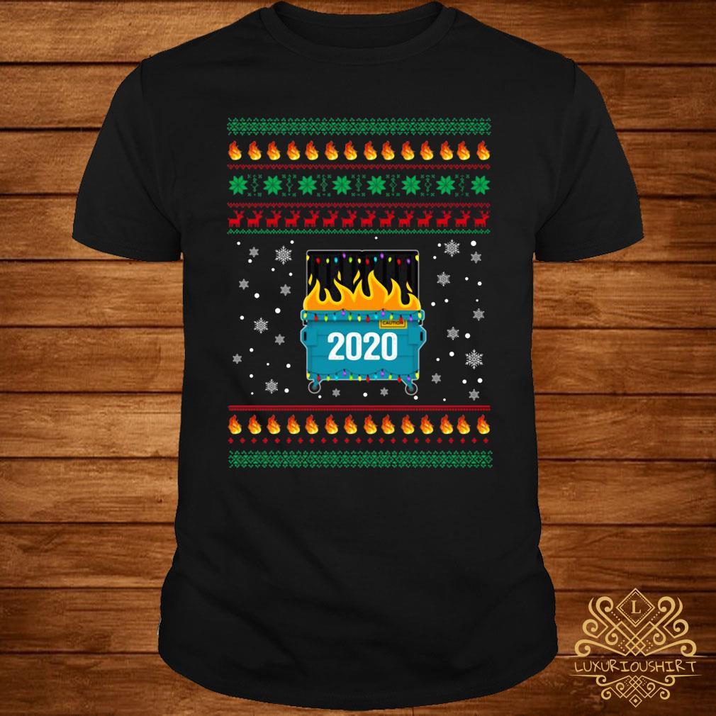 2020 Dumpster Fire Christmas Sweatshirt