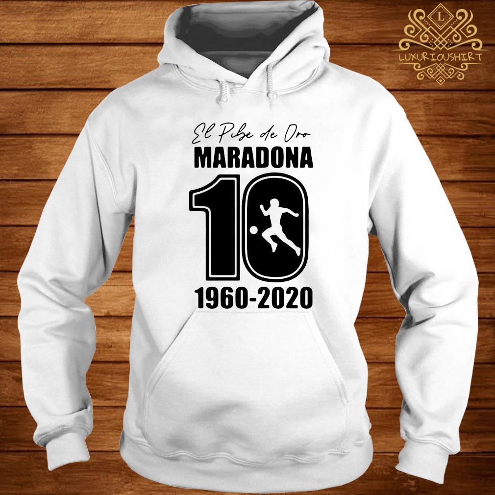 Argentina Football Legend Never Die RIP 1960-2020 Maradona 10 Shirt hoodie