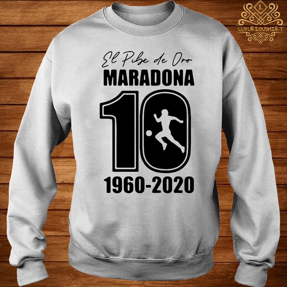 Argentina Football Legend Never Die RIP 1960-2020 Maradona 10 Shirt sweater