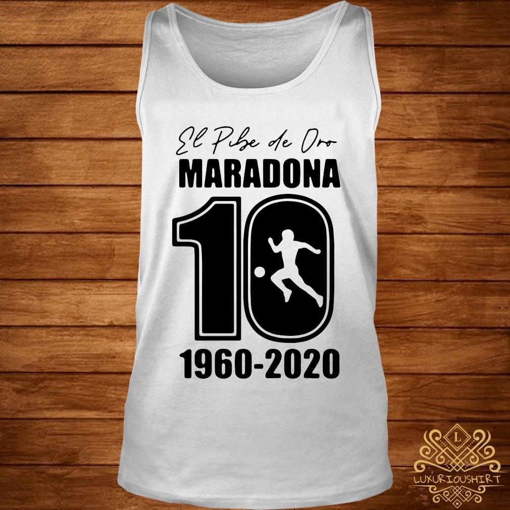 Argentina Football Legend Never Die RIP 1960-2020 Maradona 10 Shirt tank-top