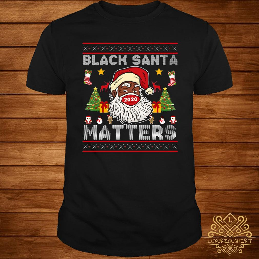 Black Santa Matters Christmas Sweatshirt