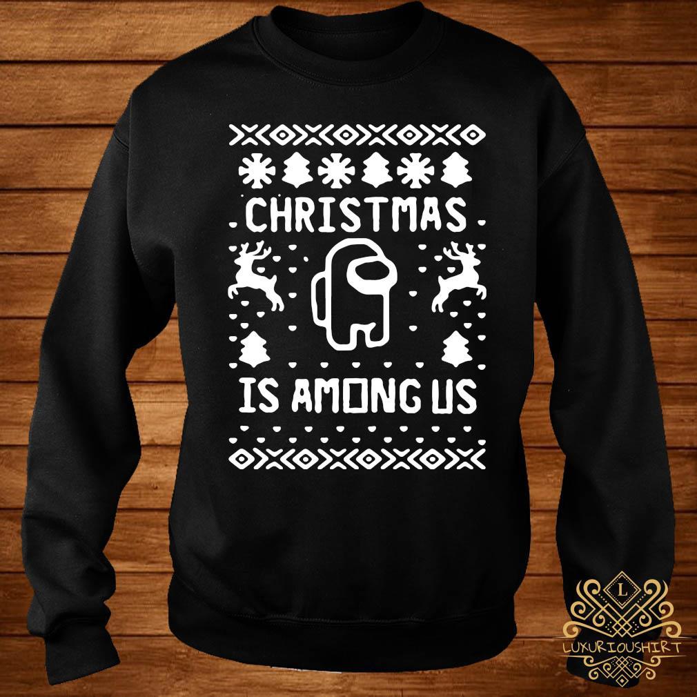Christmas Is Among Us Sweater sweater