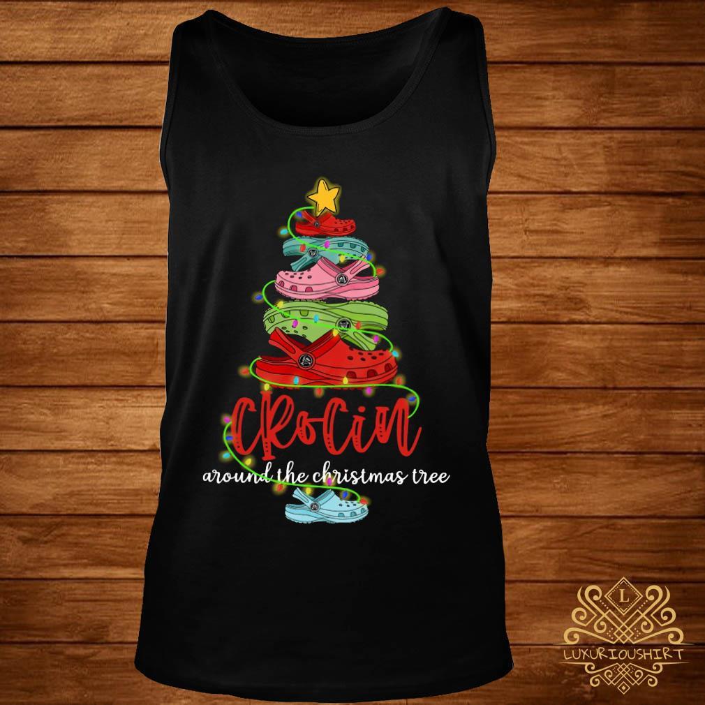 Crocin Around The Christmas Tree Shirt tank-top