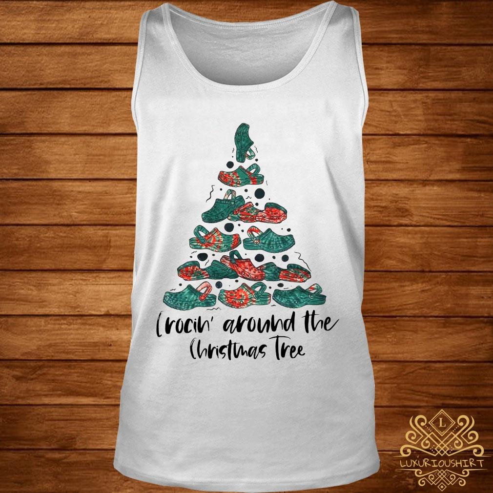 Crocin' Around The Christmas Tree Sweater tank-top