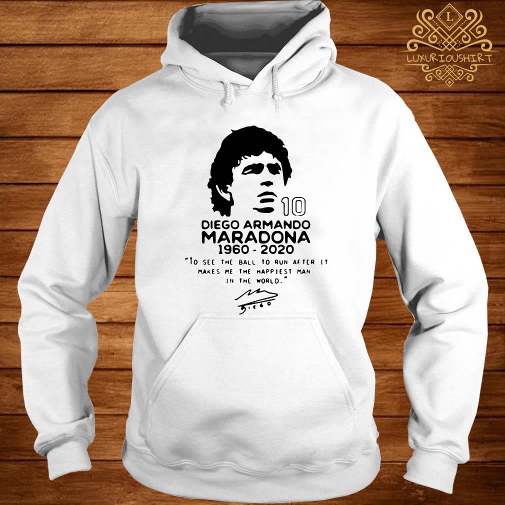 Diego Armando Maradona 10 RIP 1969 2020 Shirt hoodie