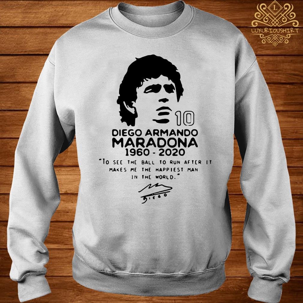 Diego Armando Maradona 10 RIP 1969 2020 Shirt sweater