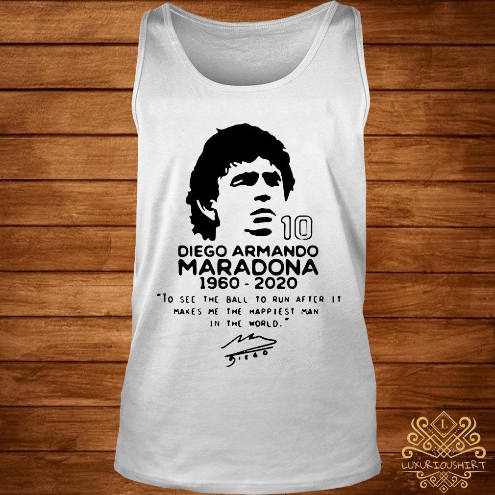 Diego Armando Maradona 10 RIP 1969 2020 Shirt tank-top