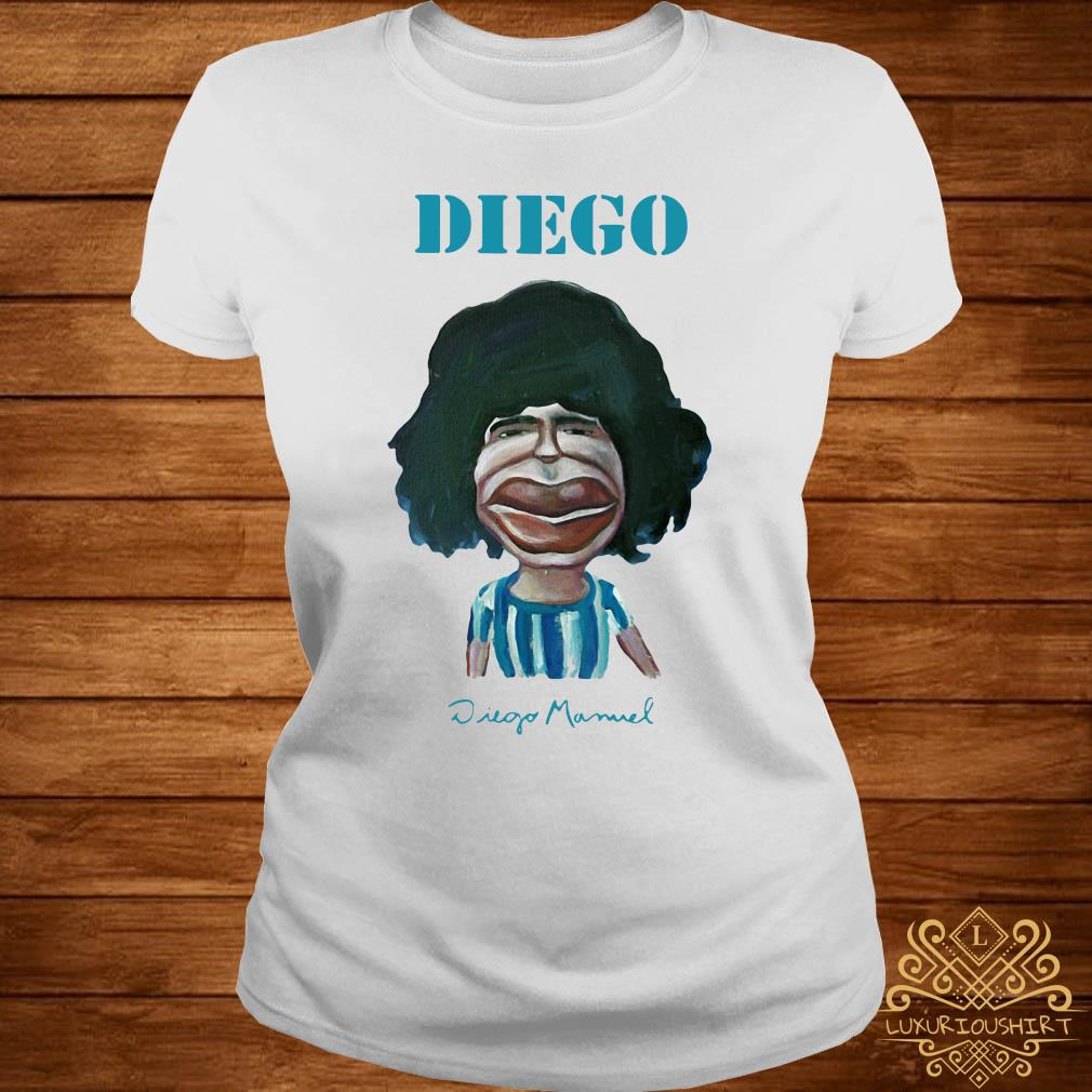 Diego Maradona Diego Manuel Shirt ladies-tee
