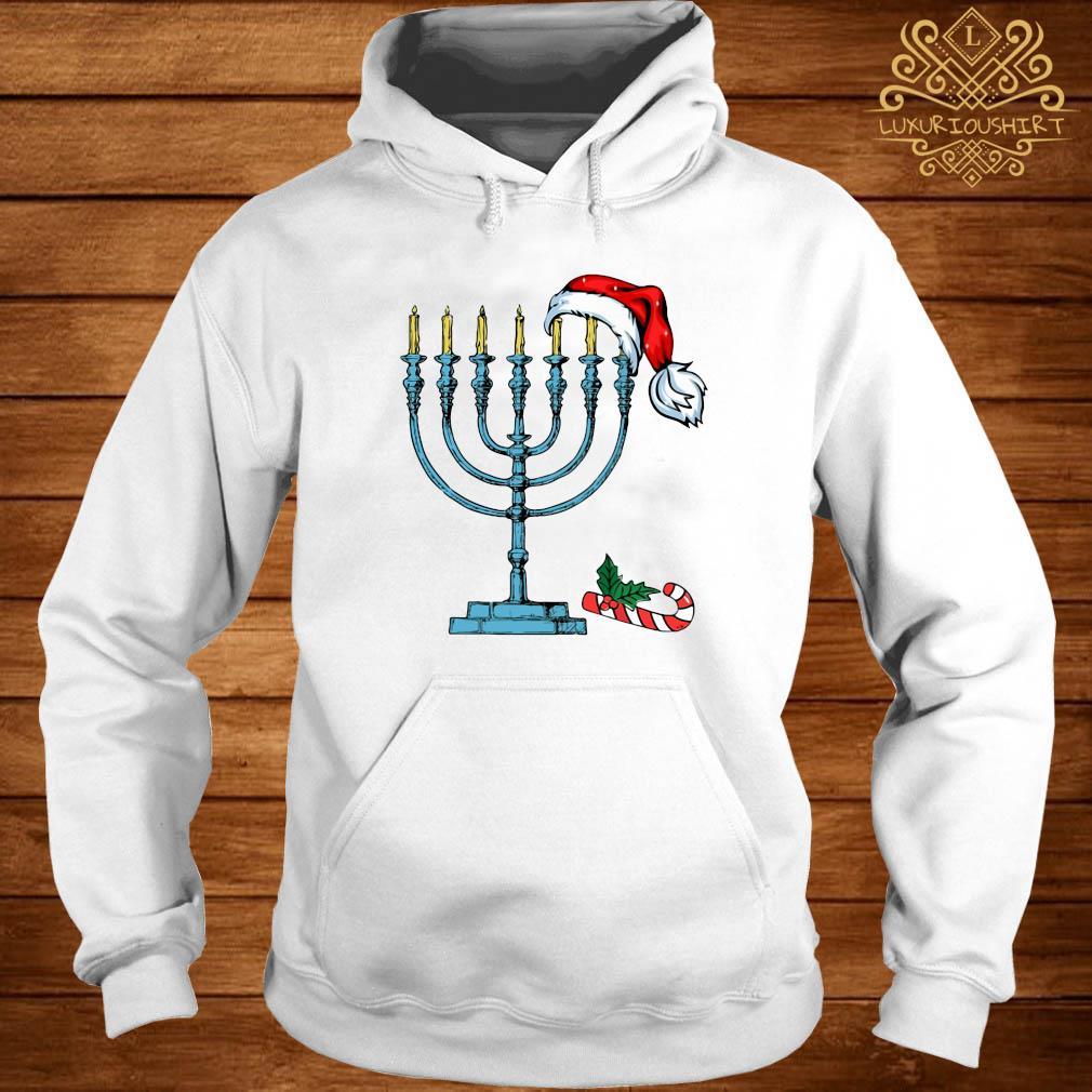 Hanukkah Christmas Shirt hoodie