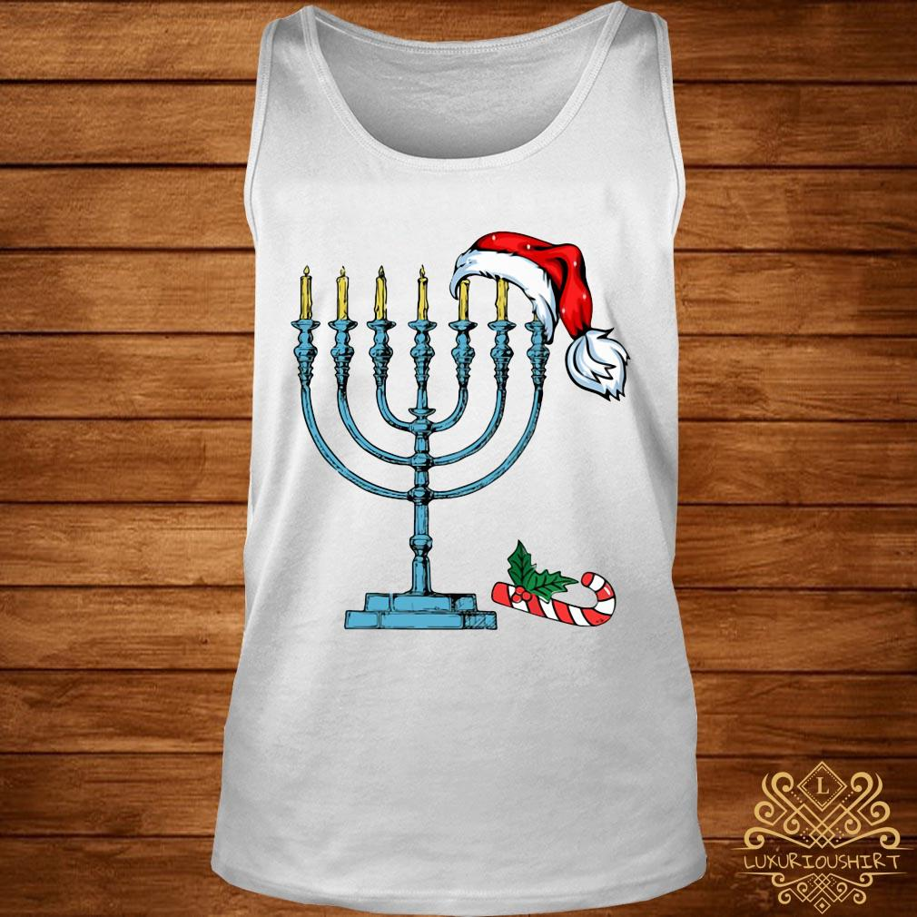 Hanukkah Christmas Shirt tank-top