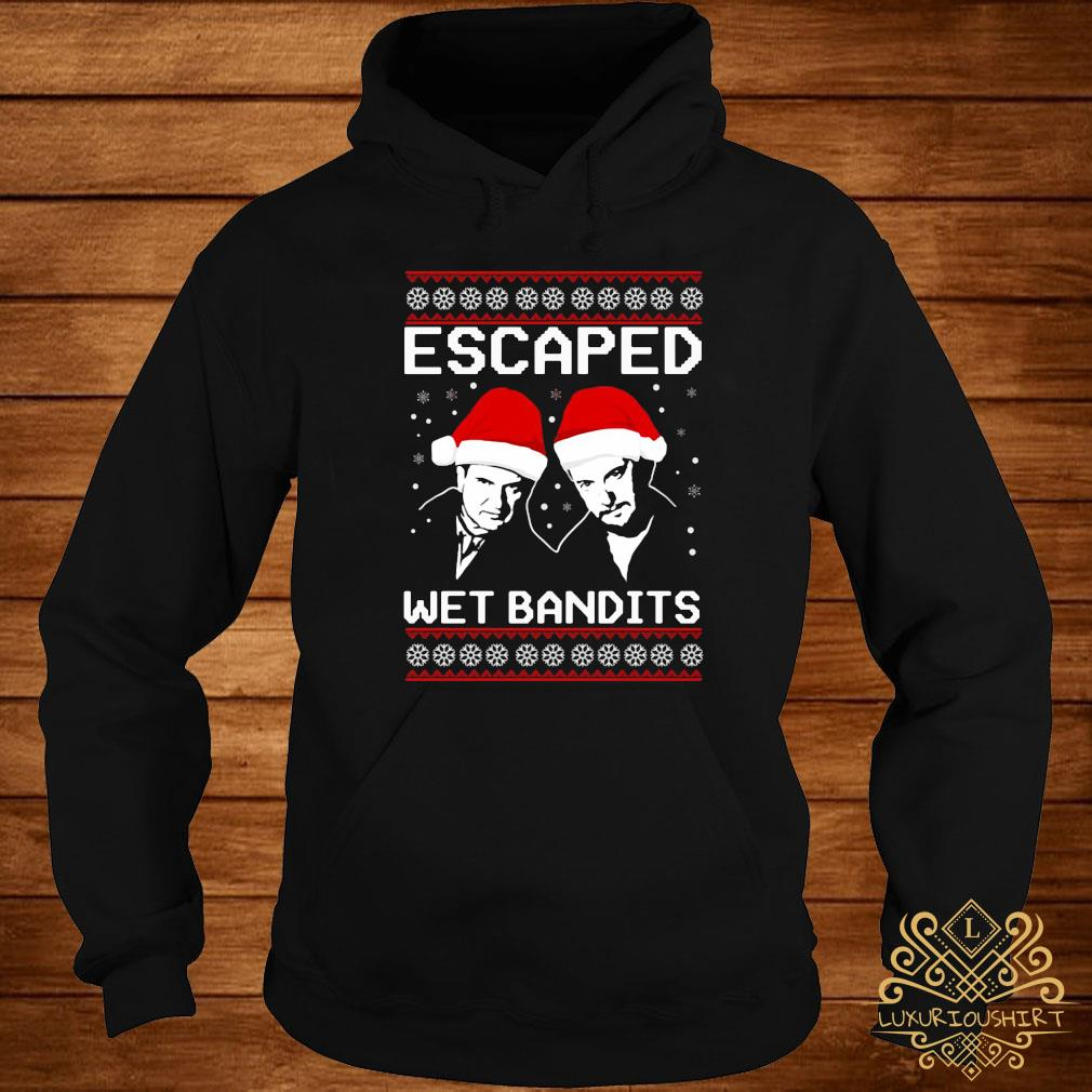 Home Alone Escaped Wet Bandits Christmas Shirt hoodie