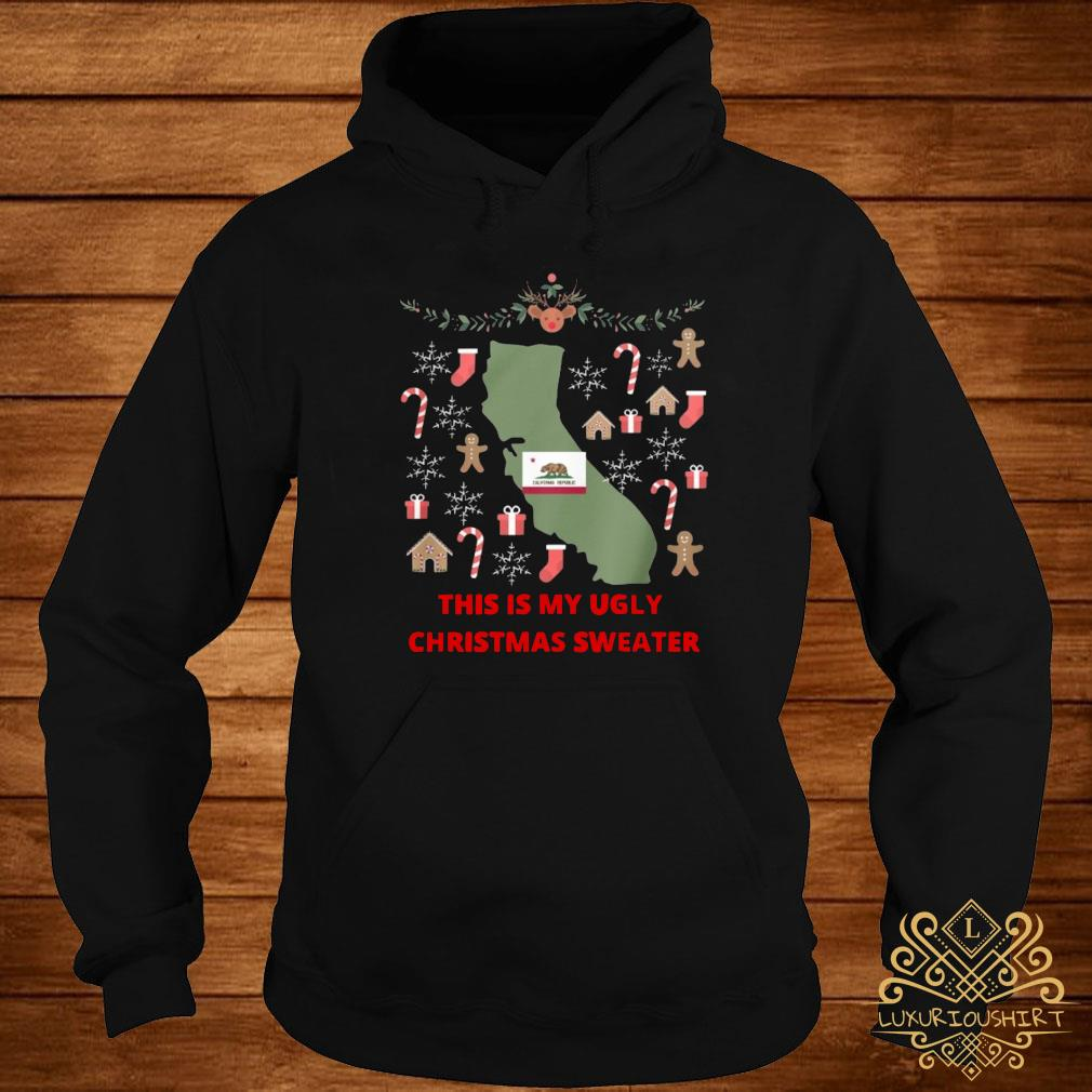 Houston Texans This Is My Ugly Christmas Sweater hoodie