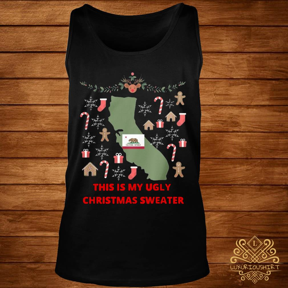 Houston Texans This Is My Ugly Christmas Sweater tank-top