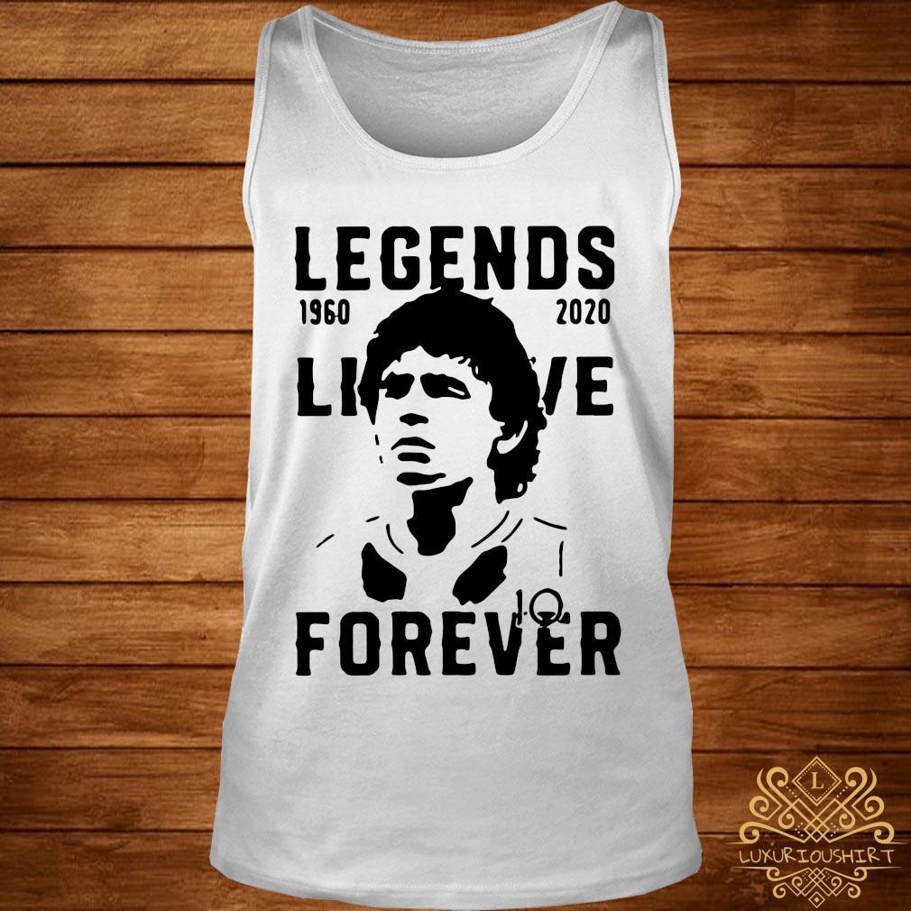 Legend Never Die Diego Maradona 1960 2020 Forever Shirt tank-top