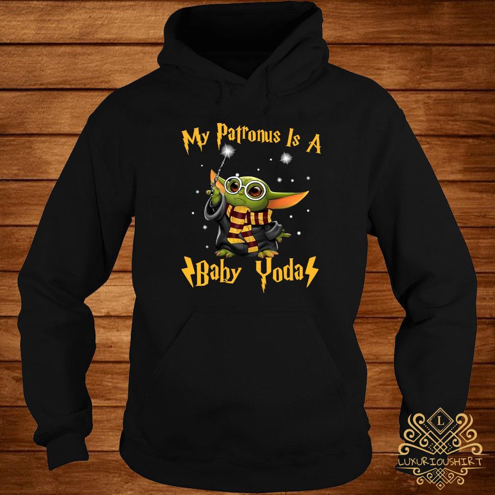 My Patronus Is A Baby Yoda Shirt hoodie