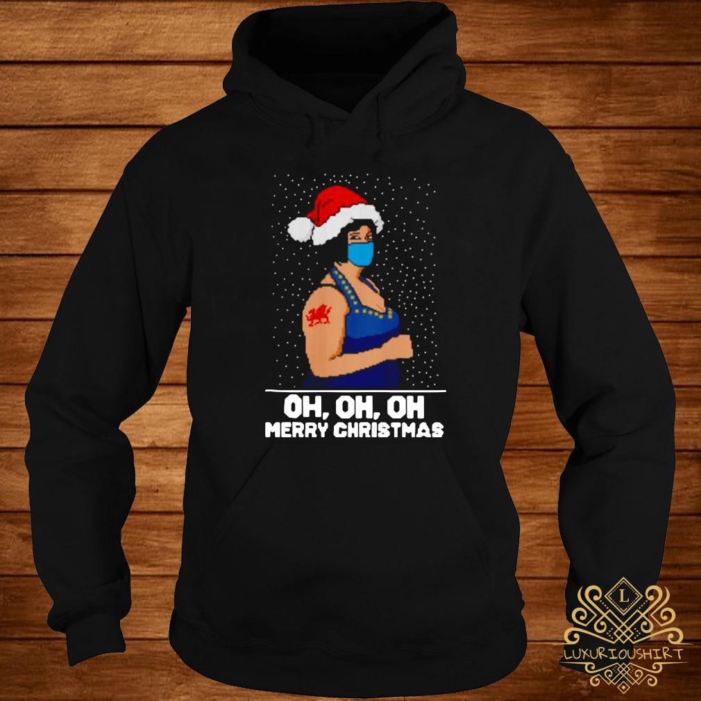Nessa Jenkins Oh Oh Oh Merry Ugly Christmas Shirt hoodie