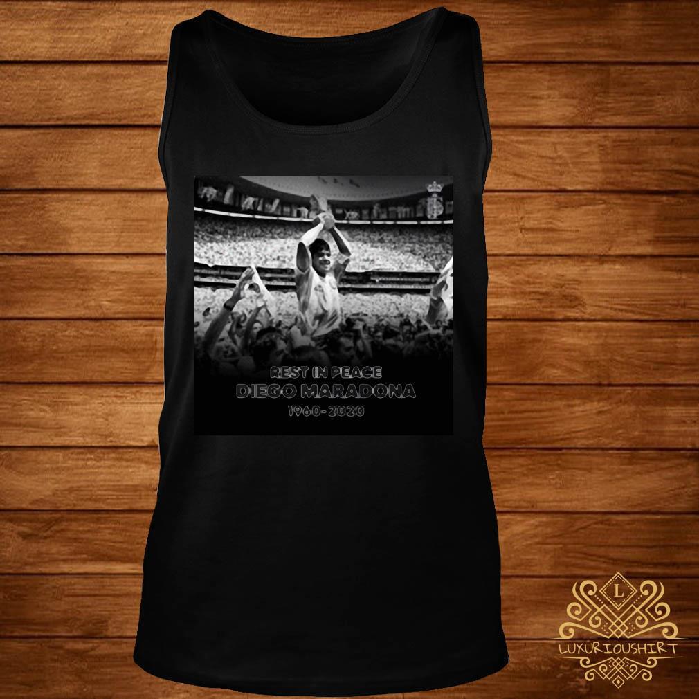 Rest In Peace Love Diego Maradona 1960-2020 Shirt tank-top