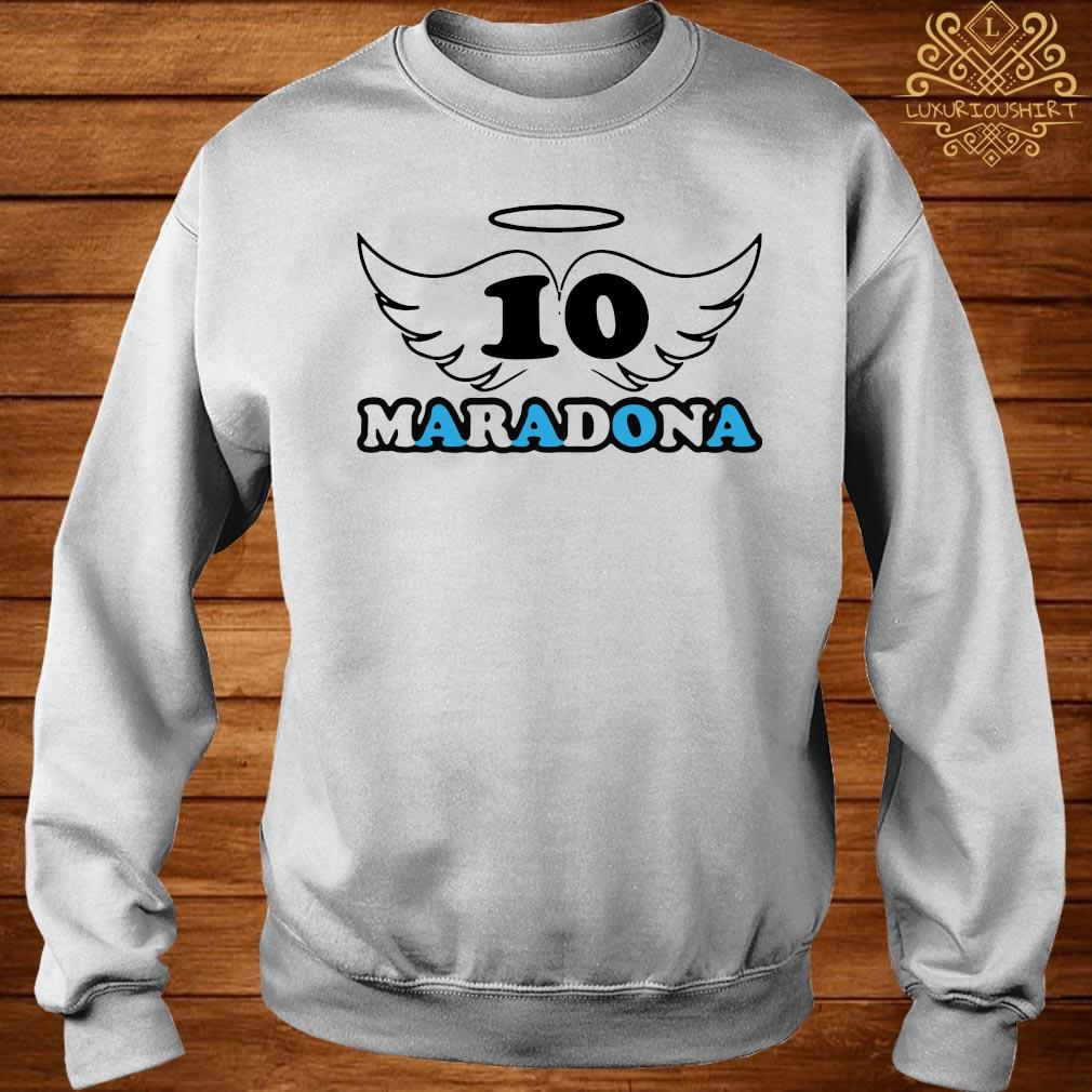 Rip Diego Armando Maradona Football Soccer Fan Lover Thank You For The Memories 2020 Shirt sweater