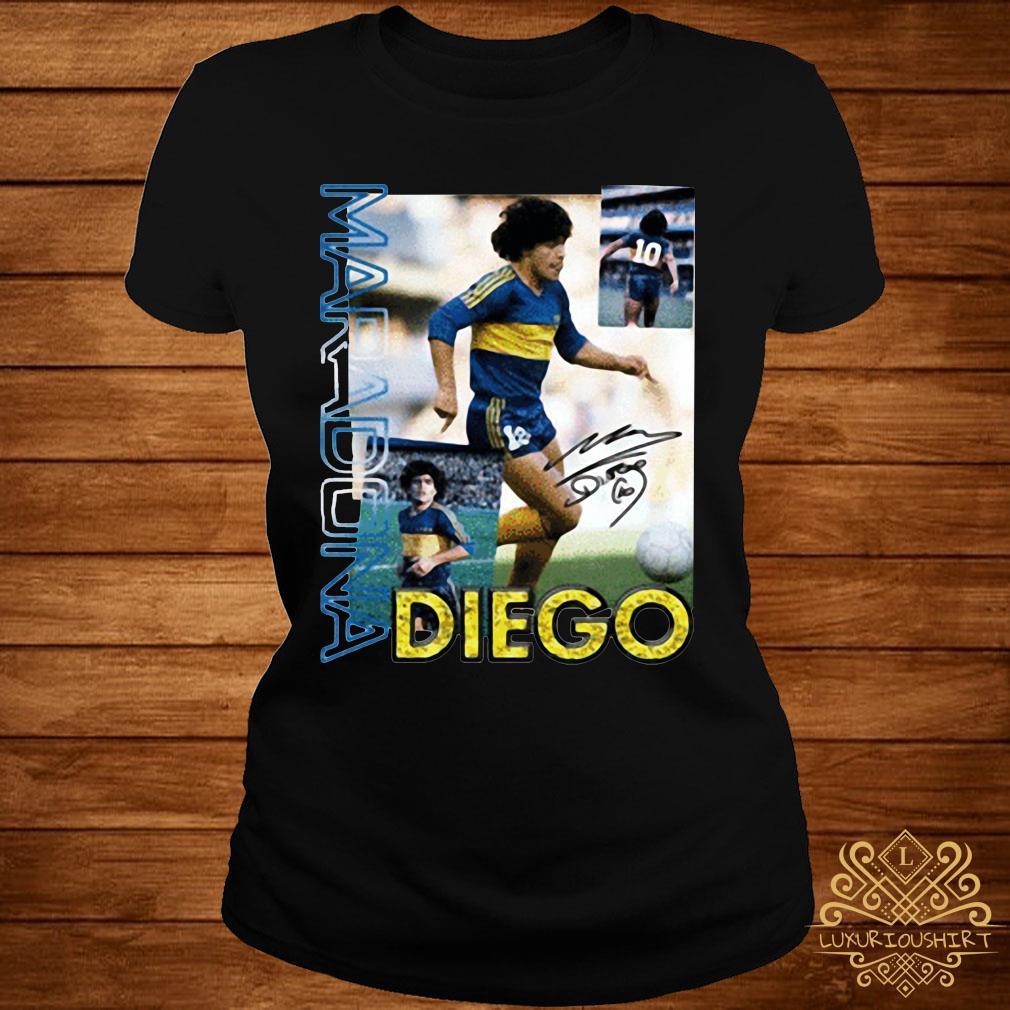 RIP Diego Maradona 1960 – 2020 Legend Shirt ladies-tee